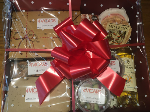 4 Vicars Christmas Hamper | Armagh delivery homemade food | event catering