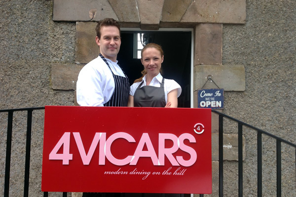best restaurant 4vicars Armagh Ulster Northern Ireland